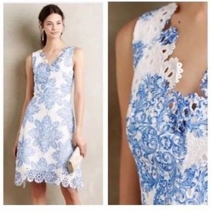 Anthropologie Eva Franco Lace Dress